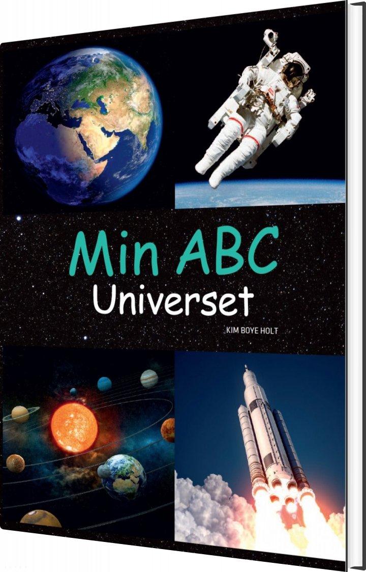 Image of   Min Abc - Universet - Kim Boye Holt - Bog
