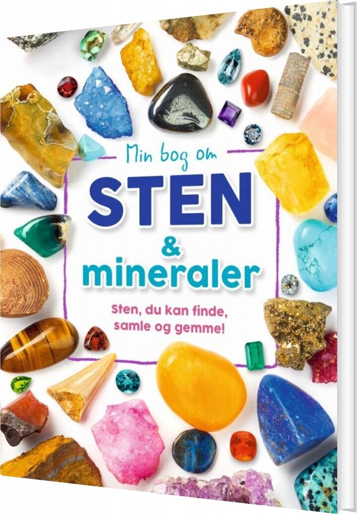 Image of   Min Bog Om Sten Og Mineraler - Dr. Devin Dennie - Bog