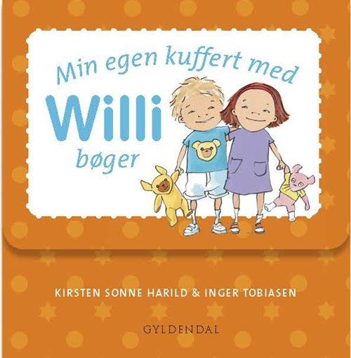 Image of   Min Egen Kuffert Med Willi Bøger - Inger Tobiasen - Bog