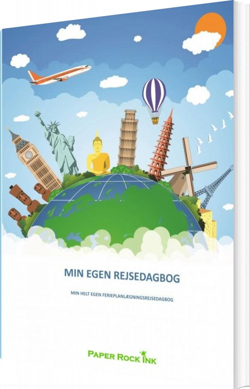 Image of   Min Egen Rejsedagbog - Else Marie Lehman - Bog