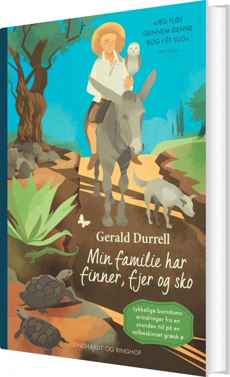 Image of   Min Familie Har Finner, Fjer Og Sko - Gerald Durrell - Bog