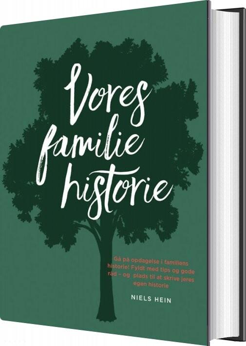 Image of   Vores Familiehistorie - Niels Hein - Bog