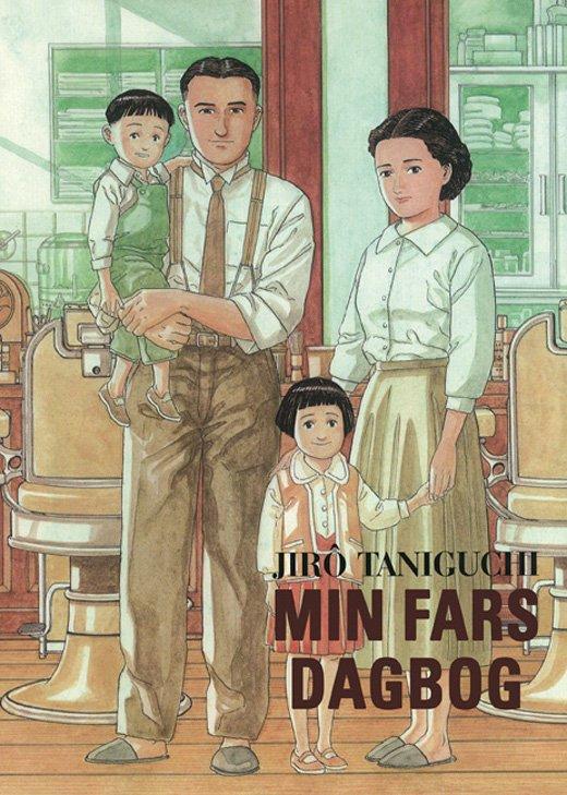 Billede af Min Fars Dagbog - Jiro Taniguchi - Tegneserie