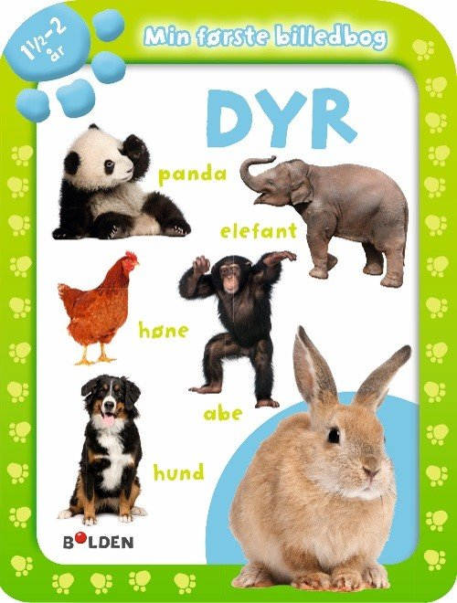 Image of   Min Første Billedbog: Dyr 1½ - 2 år - Diverse - Bog