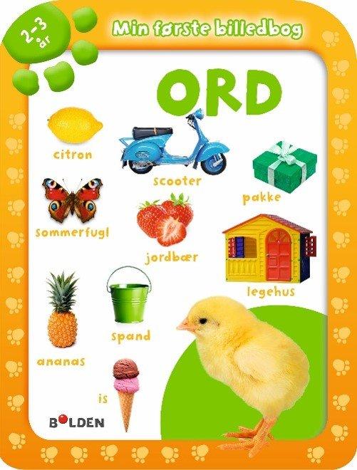 Image of   Min Første Billedbog: Ord 2 - 3 år - Diverse - Bog