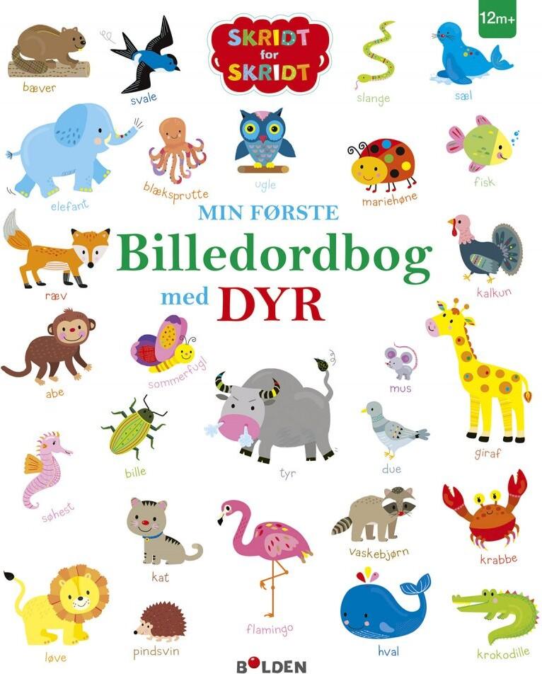 Image of   Min Første Billedordbog Med Dyr - Bog