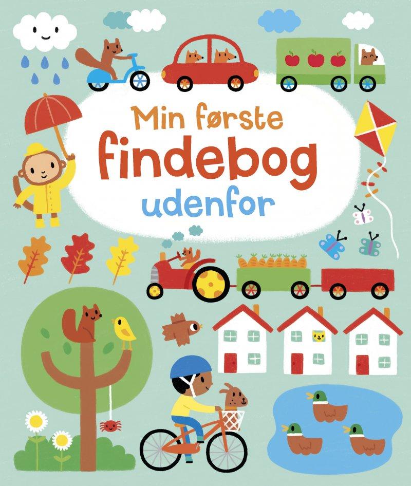 Image of   Min Første Findebog Udenfor - Diverse - Bog
