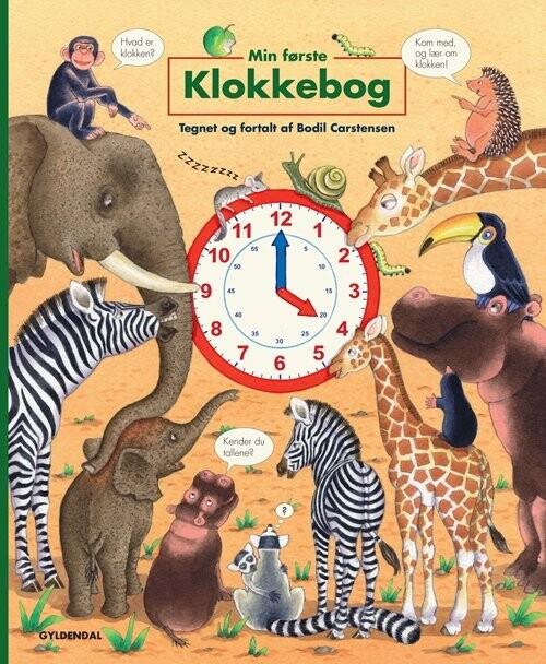 Image of   Min Første Klokkebog - Bodil Carstensen - Bog