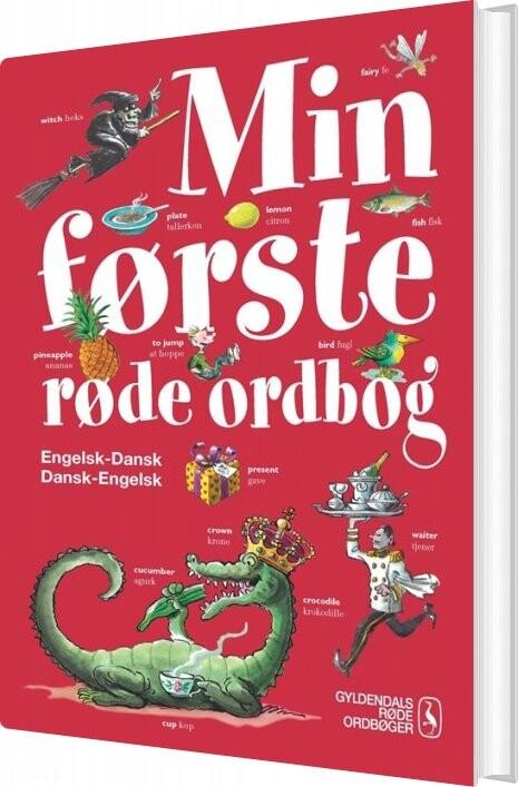Image of   Min Første Røde Ordbog - Engelsk - Dorte Maria Buhl - Bog