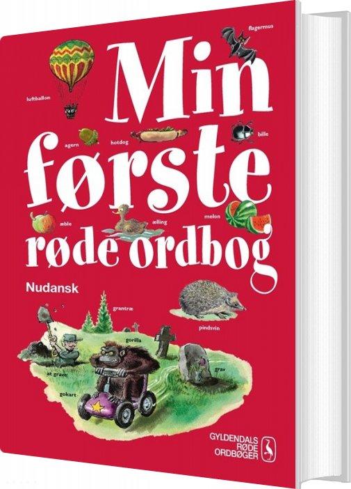 Min Første Røde Ordbog - Kirsten Jakobsen - Bog