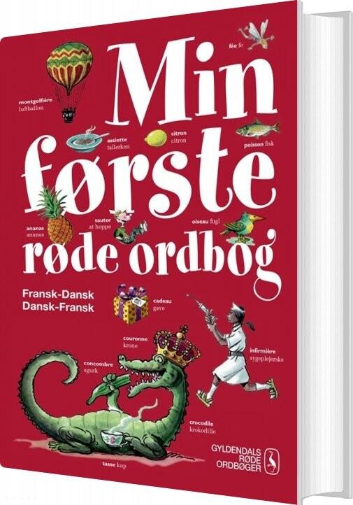 Image of   Min Første Røde Ordbog - Else Juul Hansen - Bog