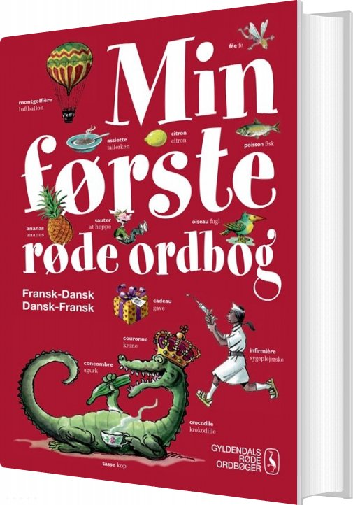 Image of   Min Første Røde Ordbog - Fransk - Else Juul Hansen - Bog