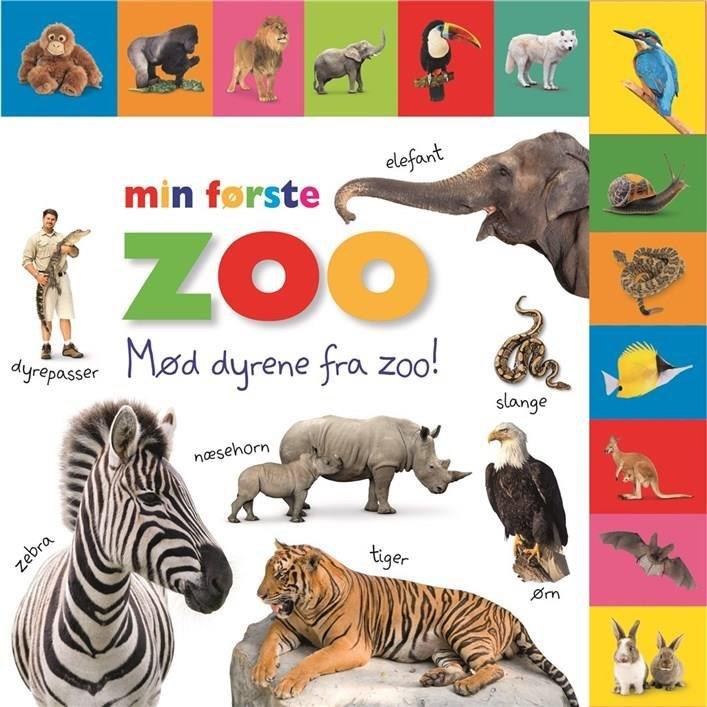 Image of   Min Første Zoo - Diverse - Bog