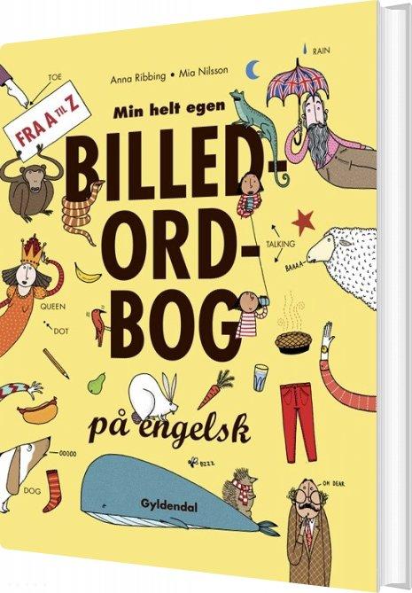 Min Helt Egen Billedordbog På Engelsk - Anna Ribbing - Bog