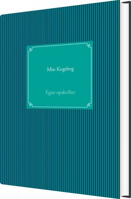 Image of   Min Kogebog - Sabrina Friis Jørgensen - Bog