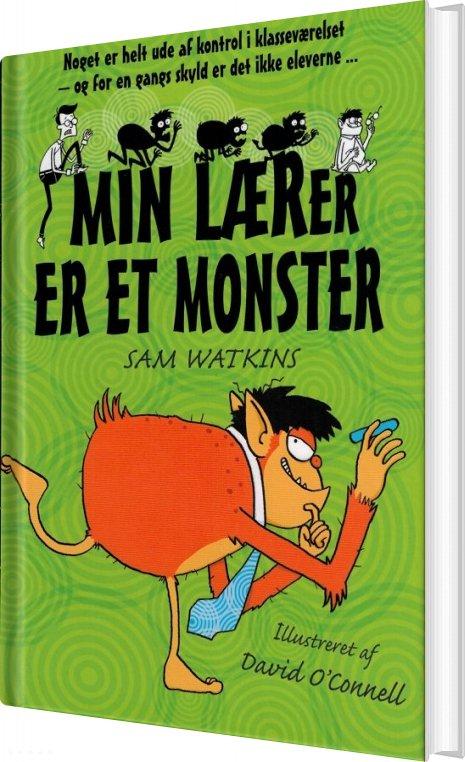 Image of   Min Lærer Er Et Monster - Sam Watkins - Bog