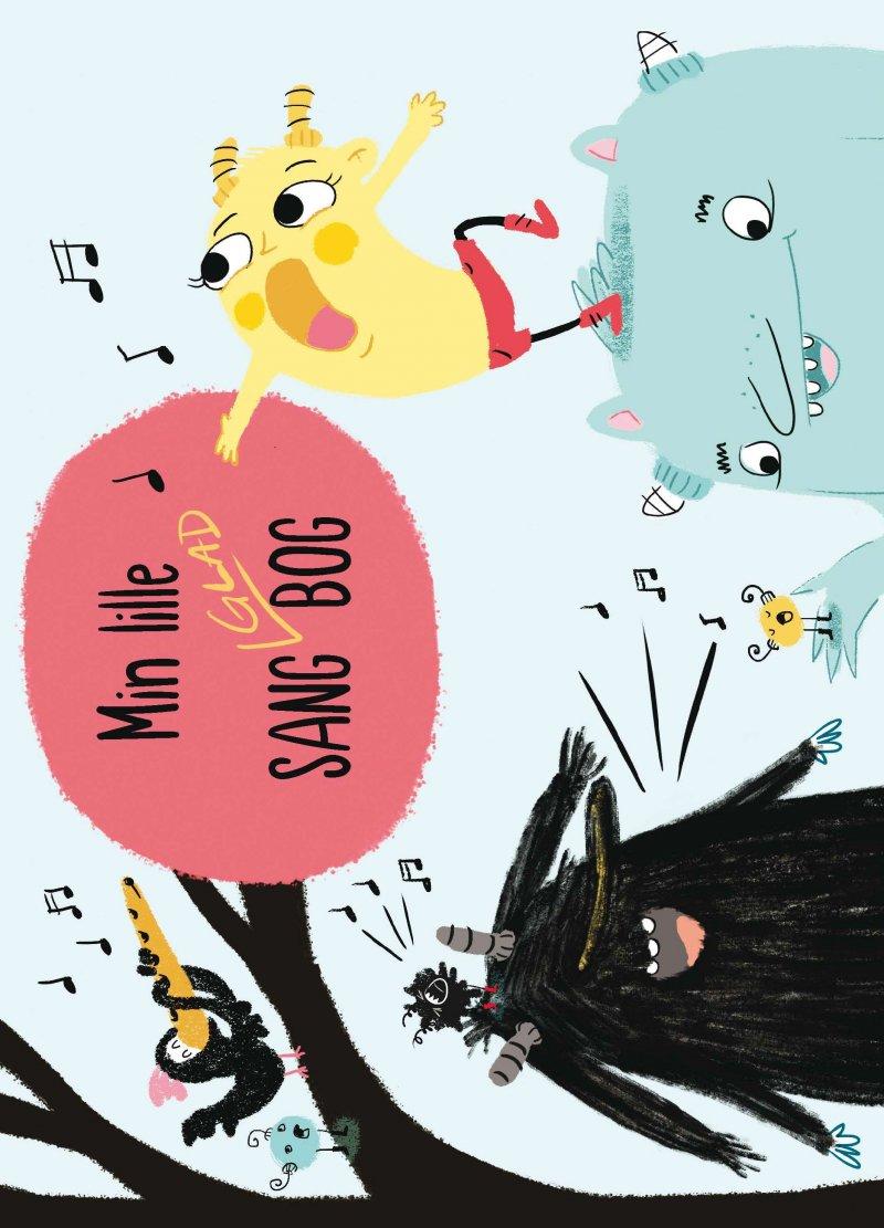 Image of   Min Lille Sang-glad-bog - Diverse - Bog