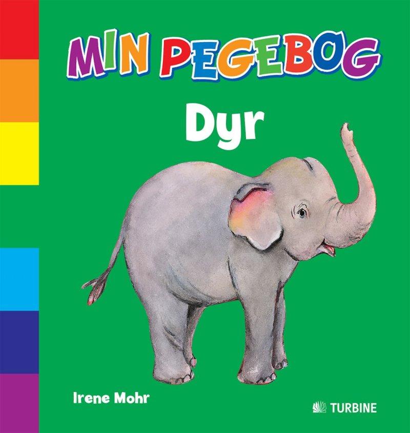 Image of   Min Pegebog - Dyr - Irene Mohr - Bog