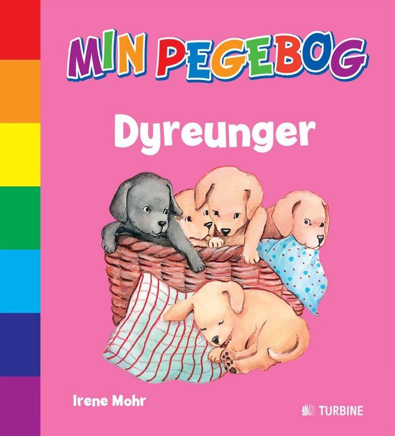 Min Pegebog - Dyreunger - Irene Mohr - Bog