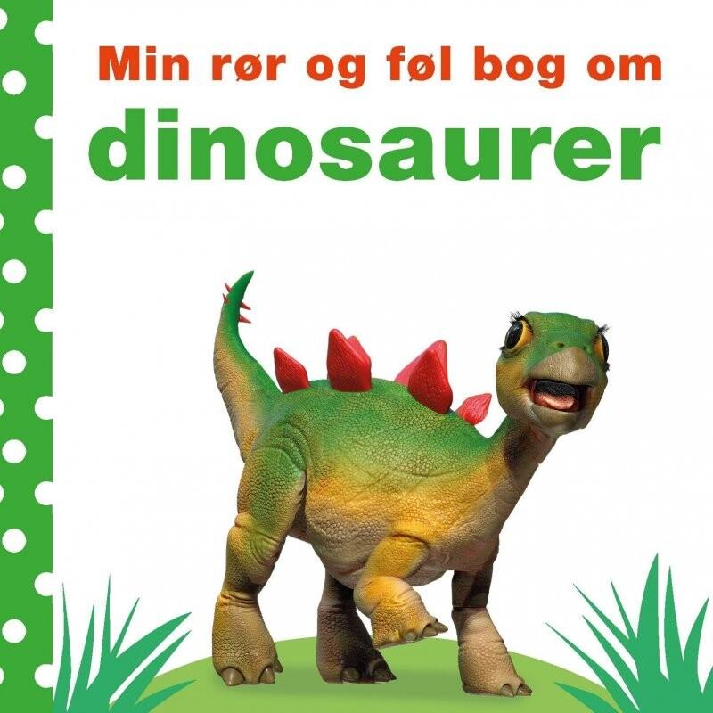 Min Rør Og Føl Bog Om Dinosaurer - Diverse - Bog