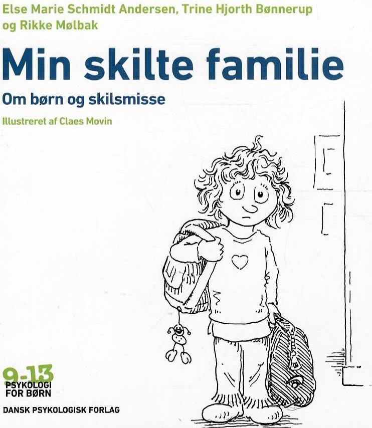 Min Skilte Familie - Rikke Mølbak - Bog