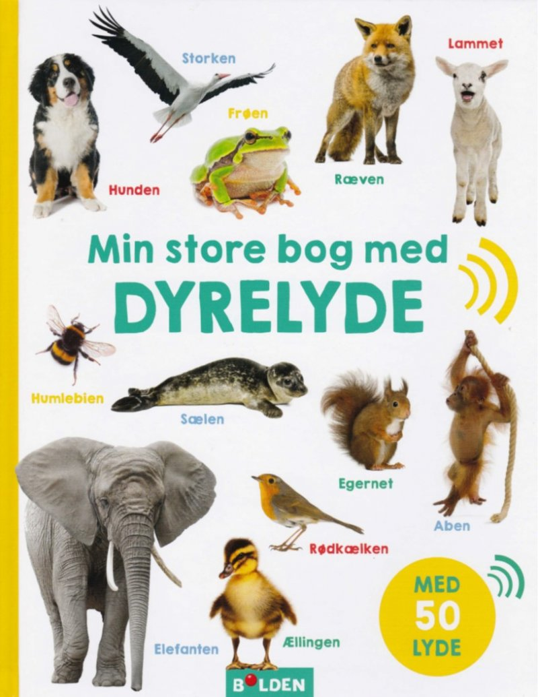 Image of   Min Store Bog Med Dyrelyde - Bog