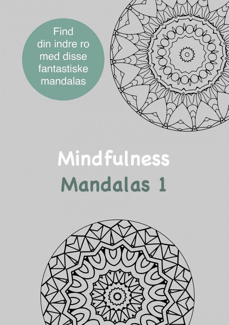 Mindfulness Mandalas 1  Malebog For Voksne - Rene Tang - Bog