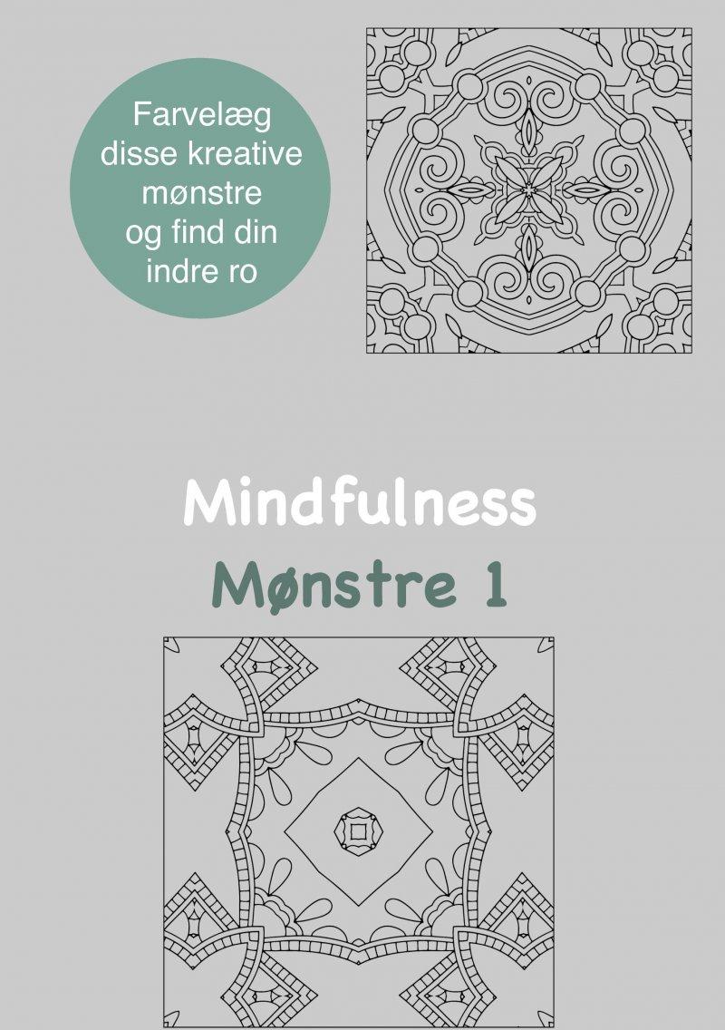 Image of   Mindfulness Mønstre 1 Malebog For Voksne - Rene Tang - Bog