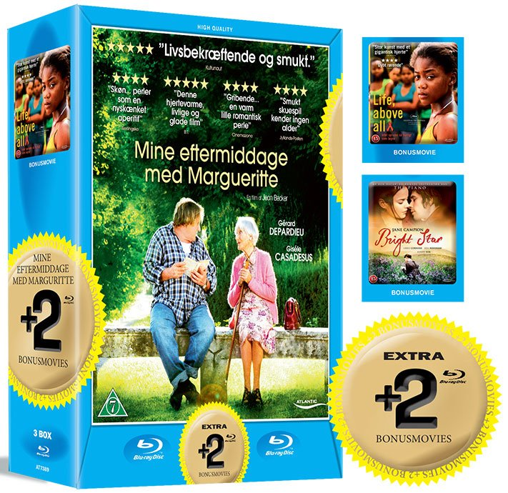 Image of   Bright Star // Mine Eftermiddage Med Margueritte // Life Above All - Blu-Ray