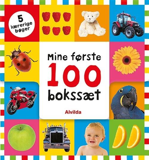 Image of   Mine Første 100 - Bokssæt (5 Lærerige Bøger) - Bog