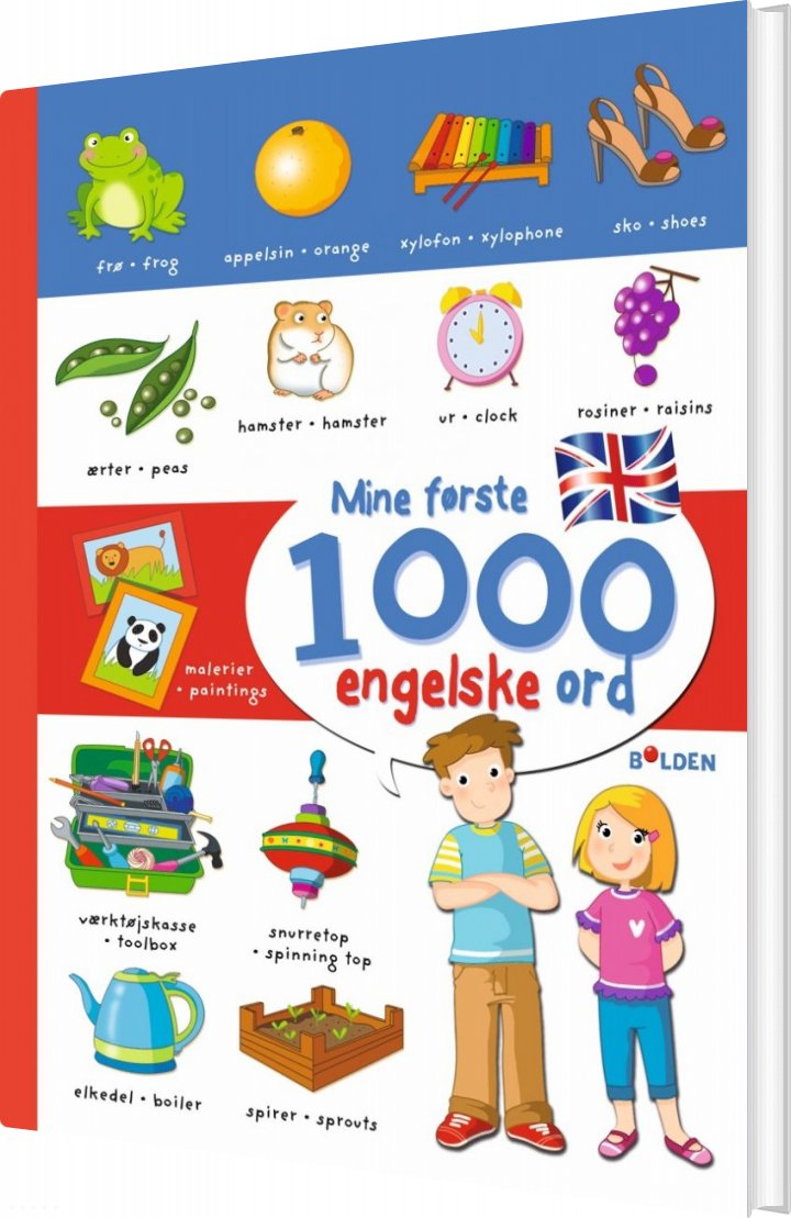 Image of   Mine Første 1000 Engelske Ord - Diverse - Bog