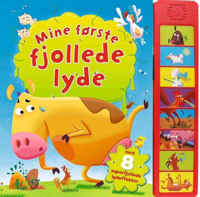 Billede af Mine Første Fjollede Lyde - Fanny Bruun - Bog