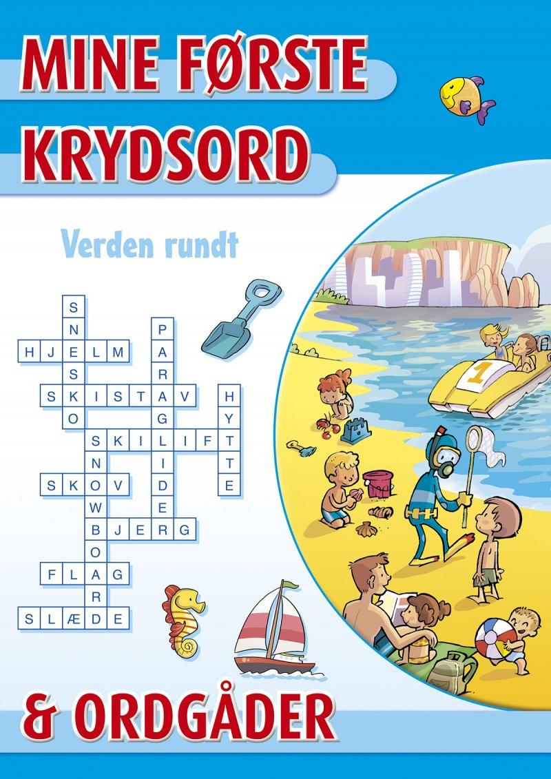 Image of   Mine Første Krydsord Og Ordgåder - Verden Rundt - Diverse - Bog