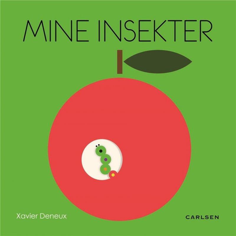 Image of   Mine Insekter - Xavier Deneux - Bog