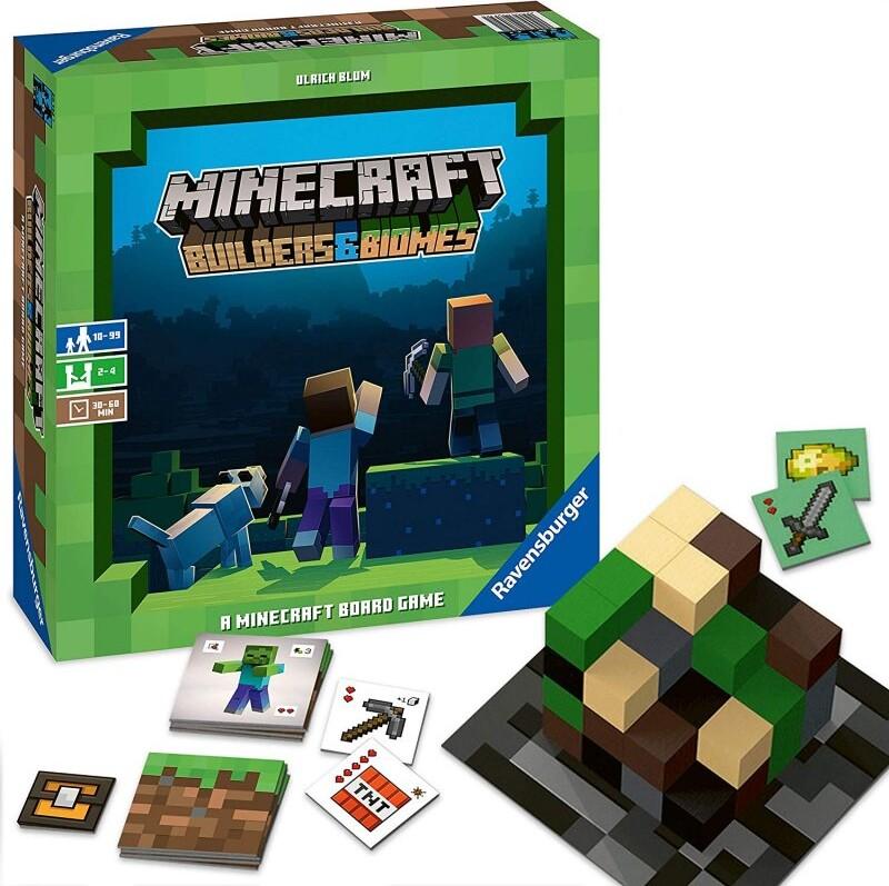 Minecraft - Builders Og Biomes - Brætspil På Engelsk