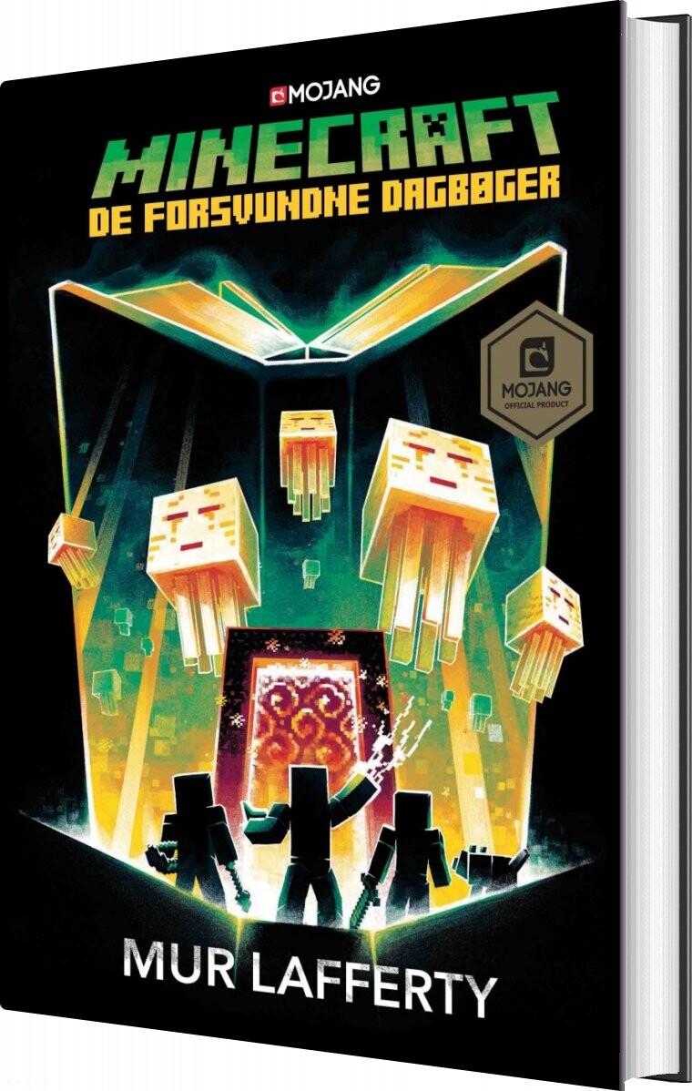 Minecraft - De Forsvundne Dagbøger - Mur Lafferty - Bog
