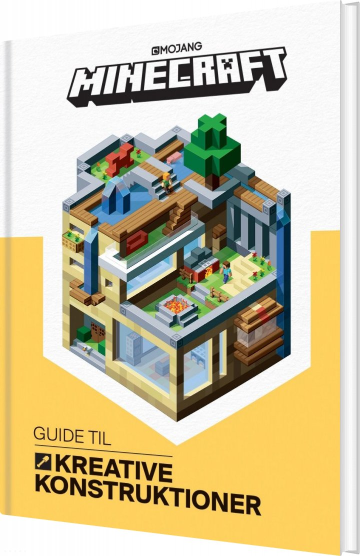 Image of   Minecraft - Guide Til Kreative Konstruktioner - Stephanie Milton - Bog
