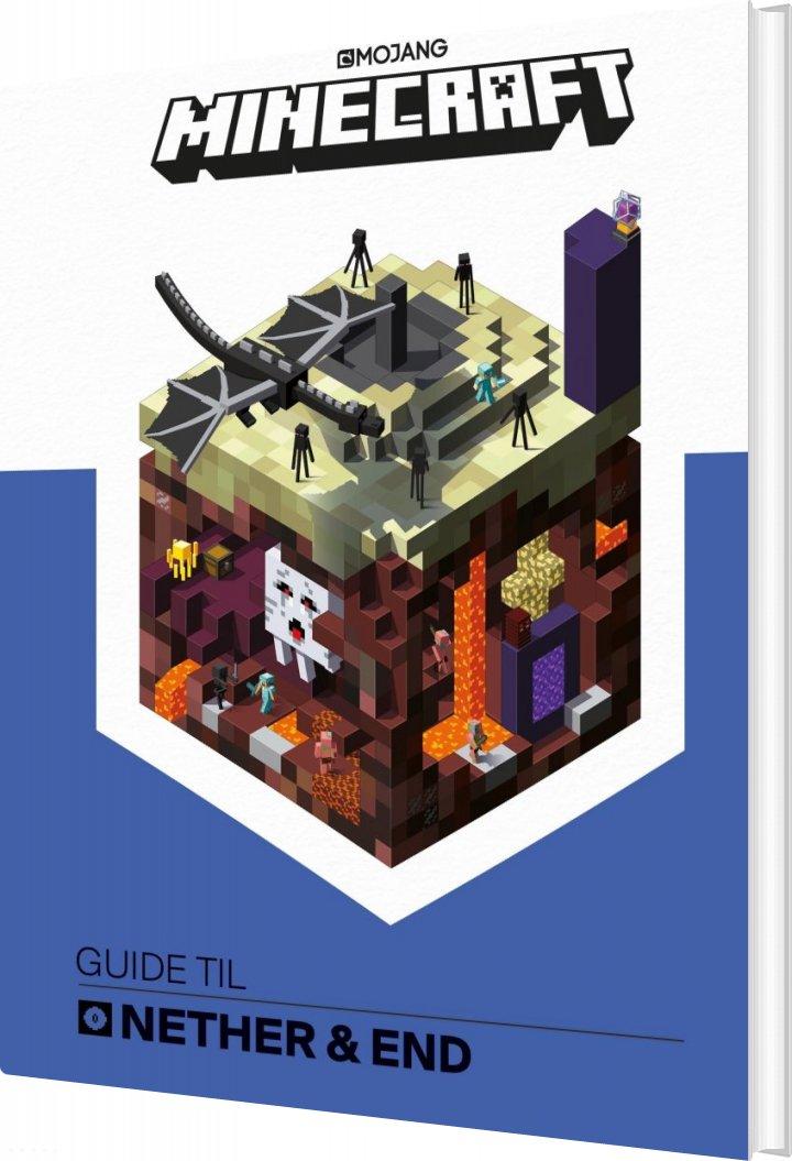 Minecraft - Guide Til Nether Og End - Diverse - Bog
