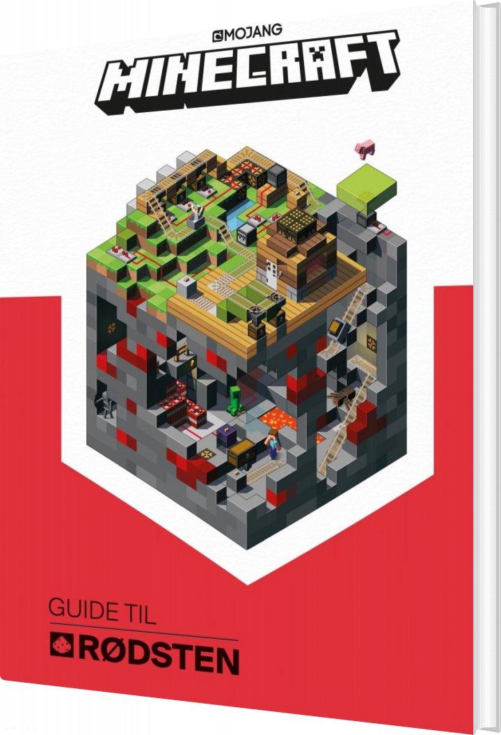 Minecraft - Guide Til Rødsten - Diverse - Bog
