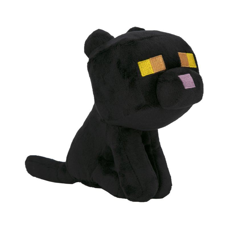 Minecraft Bamse - Happy Explorer Black Cat