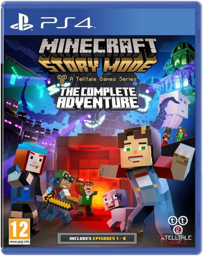 Image of   Minecraft - Story Mode: The Complete Adventure - PS4