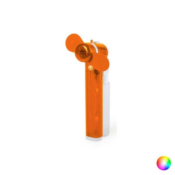 Image of   Mini Håndholdt Ventilator Blæser Til Batterier - Orange