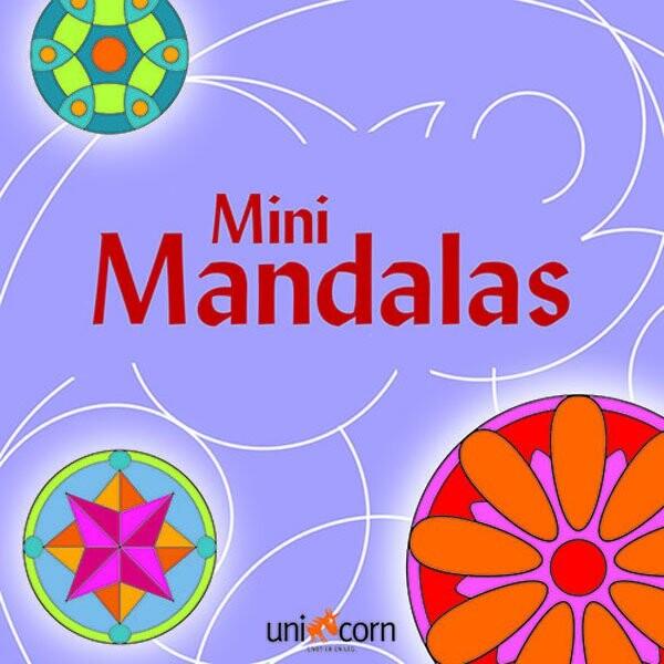 Mini Mandalas - Lilla - Diverse - Bog