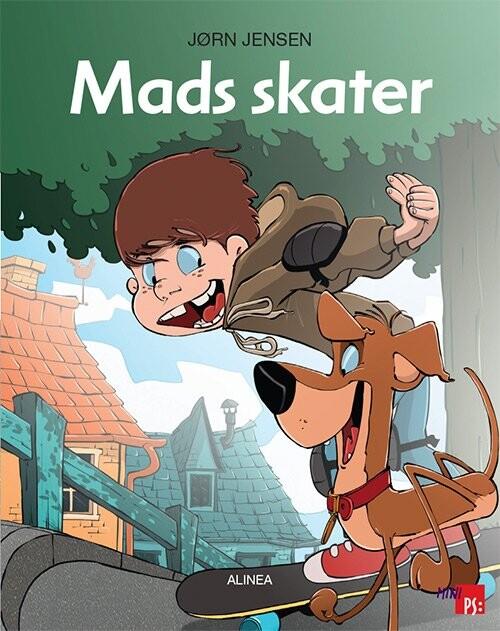 Image of   Mini Ps, Mads Skater - Jørn Jensen - Bog