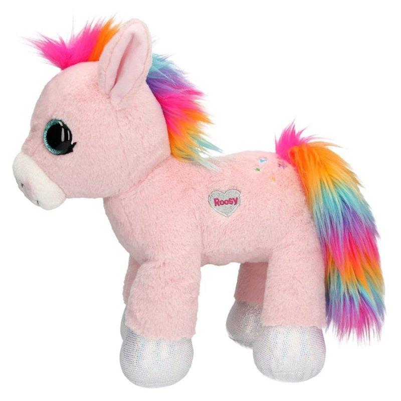Ylvi & The Minimoomis - Enhjørning Bamse - Roosy Rainbow 18 Cm