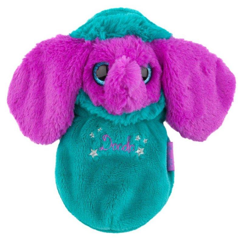da09d8a0329 Den søde Minimoomis-bamse Doodo tager en lur i sin sovepose. Når hun ikke  længere er træt, kan du tage hende op af soveposen og lege med hende!