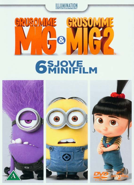 Billede af Minion - Mini Movies 6 Episodes (2014) - DVD - Film