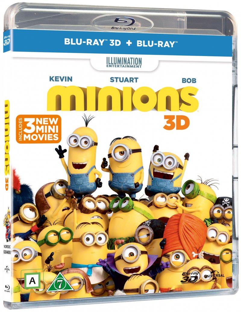 Image of   Minions - 3D Blu-Ray