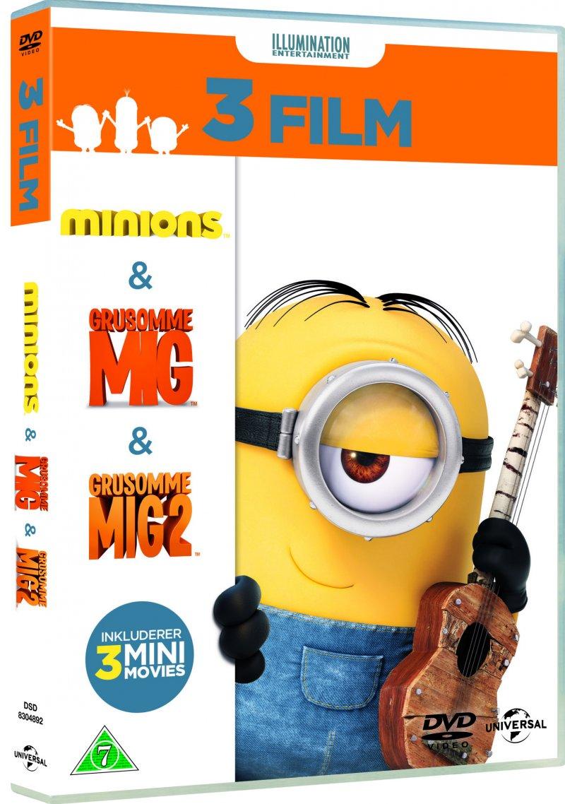 Billede af Minions Boks - 3 Film - DVD - Film