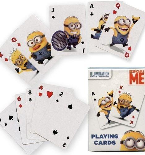 Despicable Me, Grusomme Mig, Kalendergaver, Store Spillekort, store kort